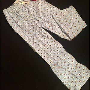 Old Navy Pants - Old Navy Cotton Pajama/Lounge Pants w/ Snowmen